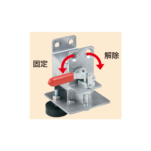 【代引不可】SAKAE(サカエ):伸縮式樹脂台車 オプションストッパー SC-OST