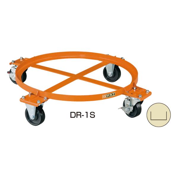 【代引不可】SAKAE(サカエ):円形ドラム台車 DR-1S