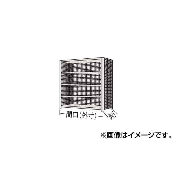 【代引不可】SAKAE(サカエ):物品棚LK型 LK9124