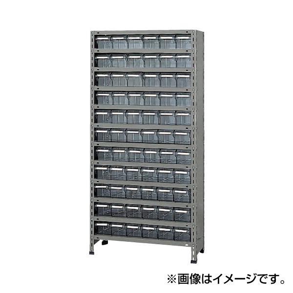 【代引不可】SAKAE(サカエ):物品棚LEK型樹脂ボックス LEK1112-66T