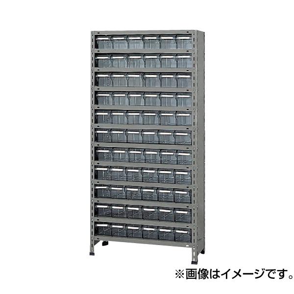 SAKAE(サカエ):物品棚LEK型樹脂ボックス LWEK1112-66T