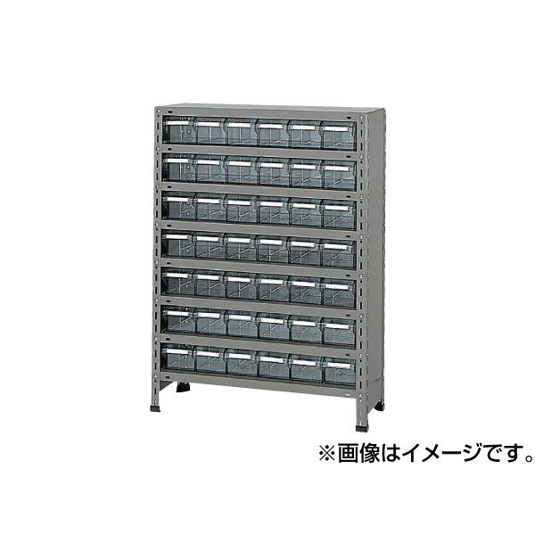 【代引不可】SAKAE(サカエ):物品棚LEK型樹脂ボックス LEK8128-42T