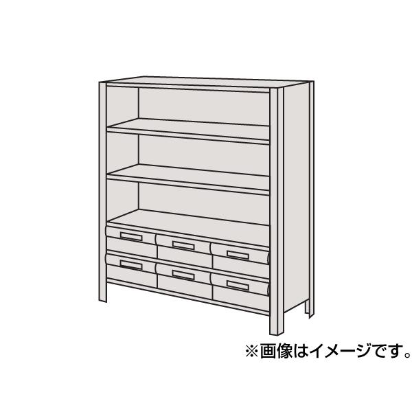【代引不可】SAKAE(サカエ):物品棚LEK型樹脂ボックス LEK8126-6T