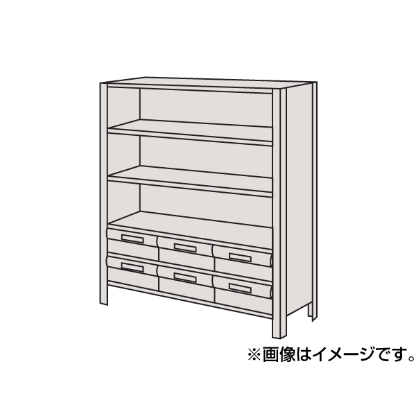 SAKAE(サカエ):物品棚LEK型樹脂ボックス LWEK8126-6T