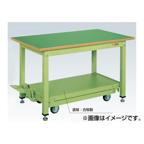SAKAE(サカエ):軽量作業台KKタイプ・ペダル昇降移動式 KK-187F