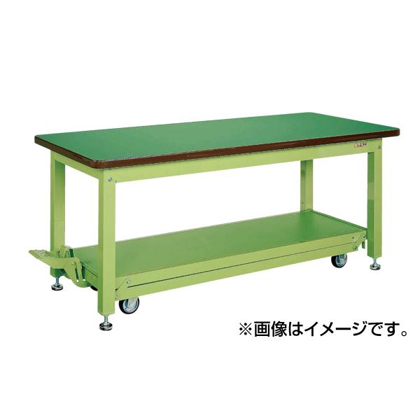 最先端 SAKAE(サカエ):重量作業台KWCタイプ・ペダル昇降移動式 KWCF-189, 富士市 8dd0d785