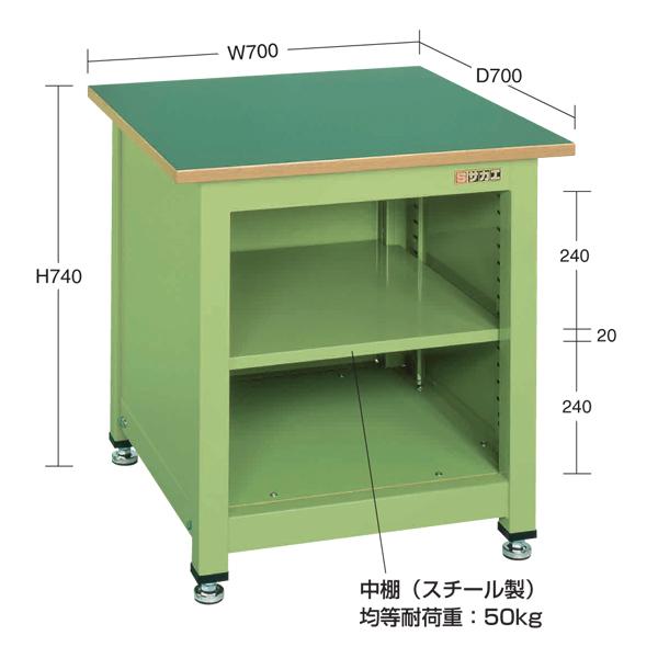 春新作の SAKAE(サカエ):一人用作業台・中量固定式 KT-102N, フランドルオンライン f5c1b171