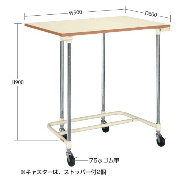 SAKAE(サカエ):収納式作業台 NST-906PI