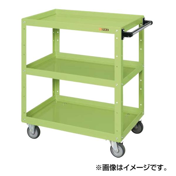 【代引不可】SAKAE(サカエ):ニューCSスーパーワゴン(エラストマー車仕様) CSWA-758EJ