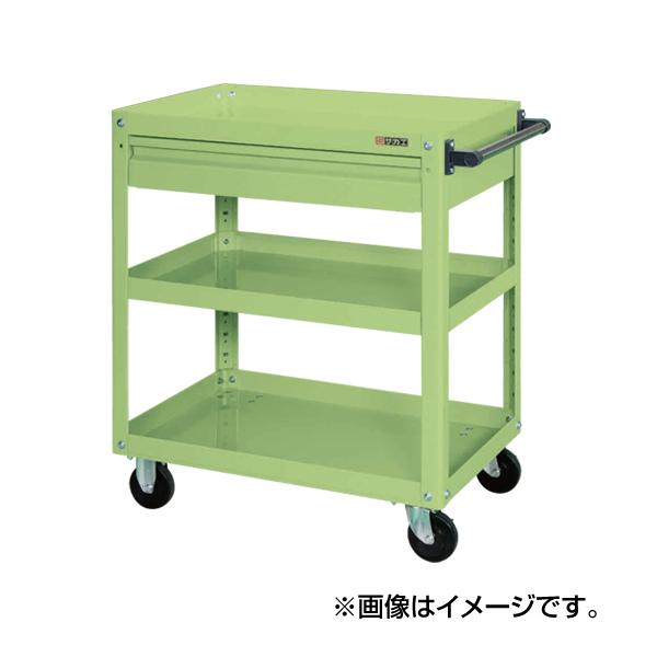 【代引不可】SAKAE(サカエ):スーパーワゴン引出付 EKR-1CNU