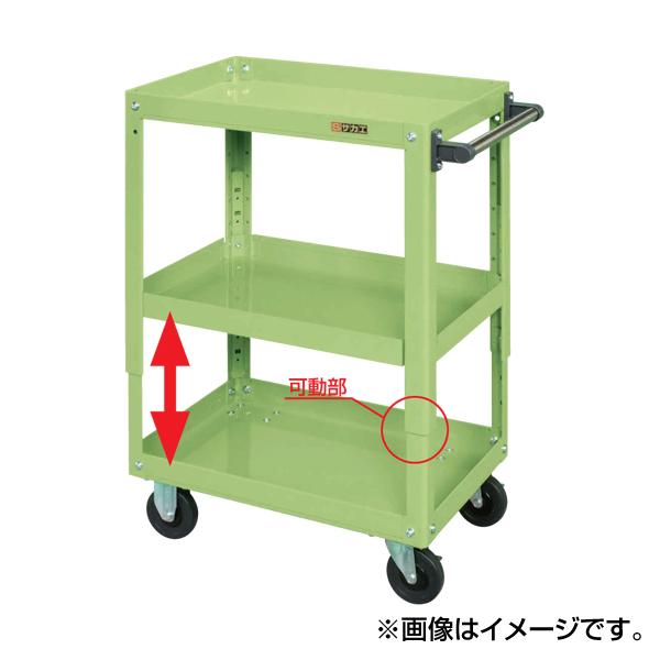 大特価 SAKAE(サカエ):スーパーワゴン TEMR-350JNU:イチネンネット-DIY・工具