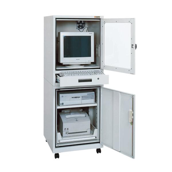 【代引不可】SAKAE(サカエ):パソコンキャビネット SPC-2SGY2