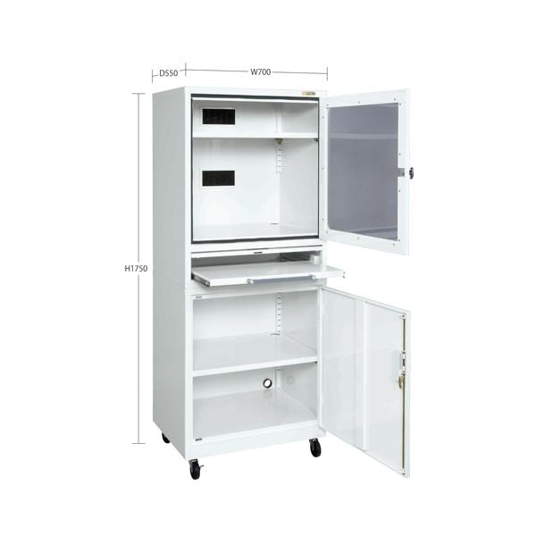 SAKAE(サカエ):パソコンキャビネット LPC-2W