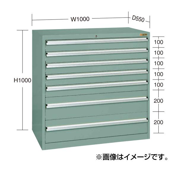 【代引不可】SAKAE(サカエ):重量キャビネットSKV10タイプ SKV10-1074ANG