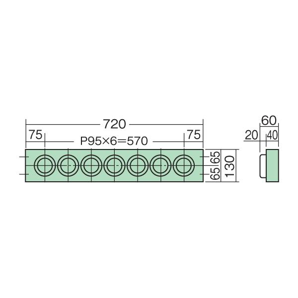 【代引不可】SAKAE(サカエ):ツーリングワゴン用ホルダーフレーム(HSKタイプ) HSK-637