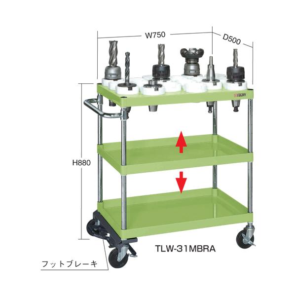 【代引不可】SAKAE(サカエ):ツーリングワゴン TLW-31MBRC