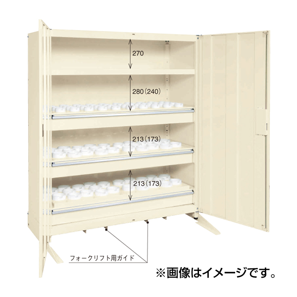 【代引不可】【受注生産品】SAKAE(サカエ):ツーリング保管庫 TLG-150A3CBF