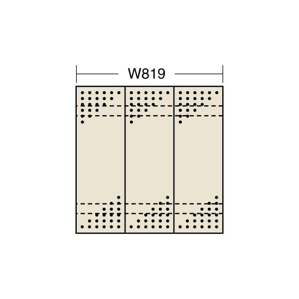 【代引不可】SAKAE(サカエ):パンチングウォールシステム PO-303LN
