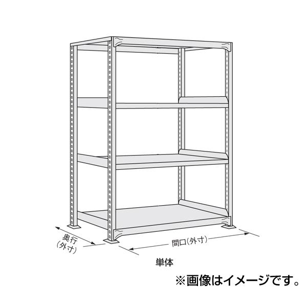【代引不可】SAKAE(サカエ):軽中量棚 ND-9524