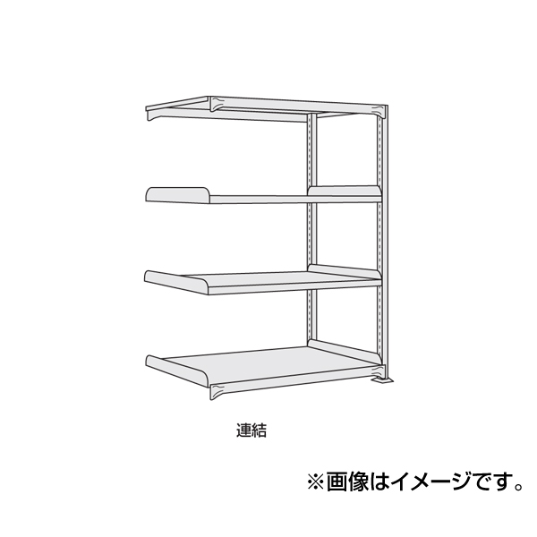【代引不可】SAKAE(サカエ):軽中量棚 ND-9744R