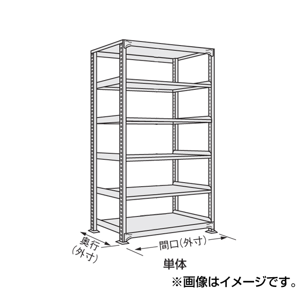 SAKAE(サカエ):軽中量棚 ND-3726 物品棚 保管 業務用