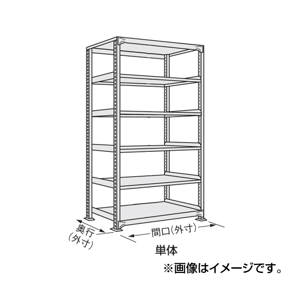 【代引不可】SAKAE(サカエ):軽中量棚 ND-3147