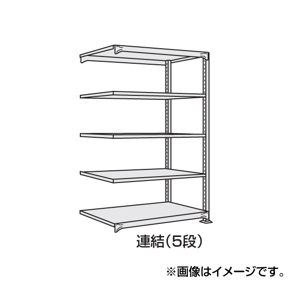 【代引不可】SAKAE(サカエ):中軽量棚NEW型 NEW-2745R