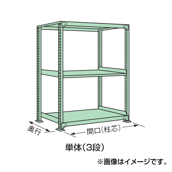 【代引不可】SAKAE(サカエ):中軽量棚ML型 ML-9123