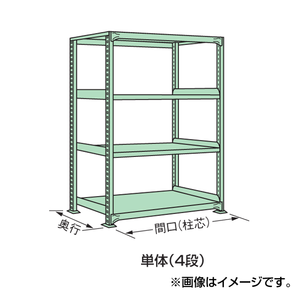 【代引不可】SAKAE(サカエ):中軽量棚ML型 ML-1564