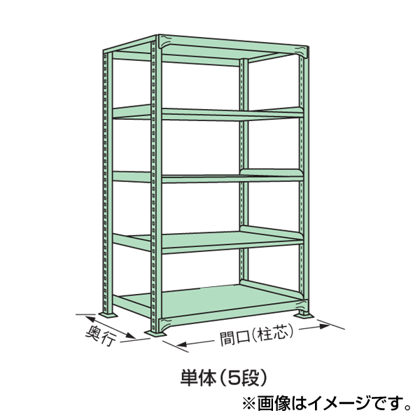 【代引不可】SAKAE(サカエ):中軽量棚ML型 ML-2765