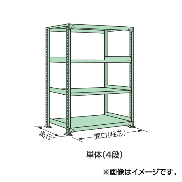 SAKAE(サカエ):中軽量棚MLW型 MLW1164