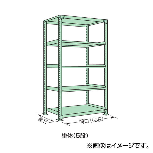 【代引不可】SAKAE(サカエ):中軽量棚ML型 ML-3125