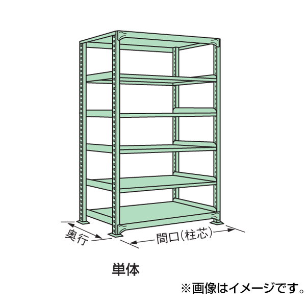 【代引不可】SAKAE(サカエ):中量棚WG型 WG-2755