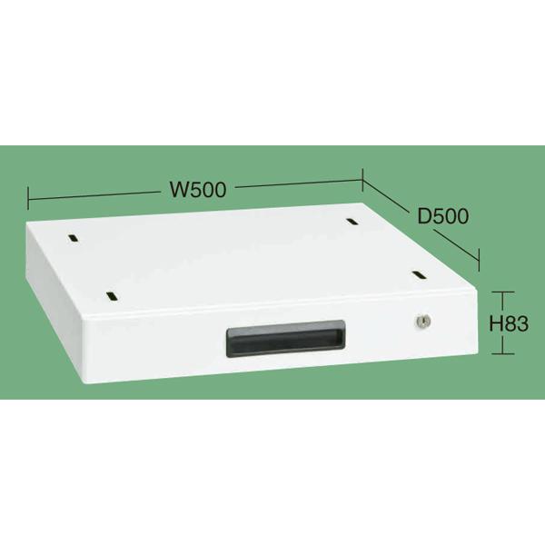 SAKAE(サカエ):作業台用オプションキャビネット(パールホワイト) NKL-10WC