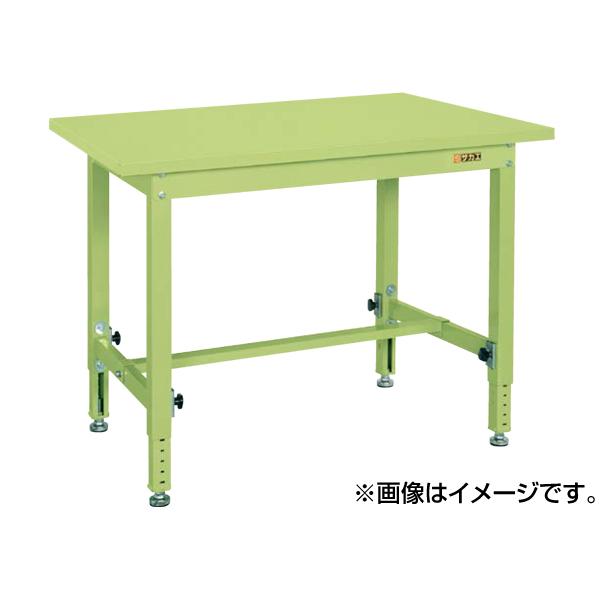 SAKAE(サカエ):中量高さ調整作業台TKTタイプ(スチールカブセ天板仕様) TKT-187PC