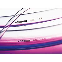 十川産業:透明ビニール管 15×18×50m TV-15x18