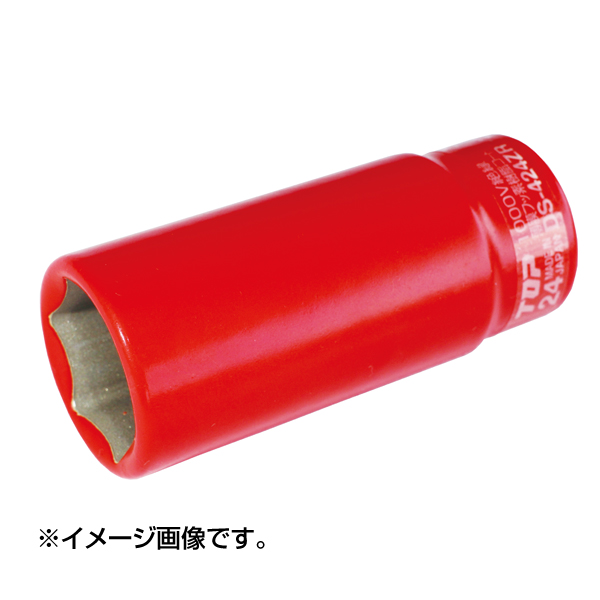 TOP(トップ):絶縁ディープソケット 差込角12.7mm 92