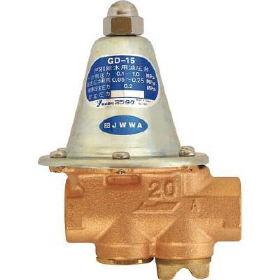 ヨシタケ 戸別給水用減圧弁 20A(1台) GD1520A 3822885