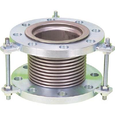 NFK 排気ライン用伸縮管継手 5KフランジSS400 200AX150L(1本) NK7300200150 4204735