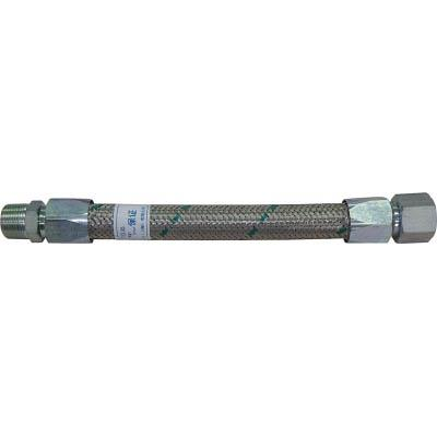 TF メタルタッチ無溶接型フレキ 継手鉄 オスXオス 25AX1000L(1本) TF16251000MM 4398050
