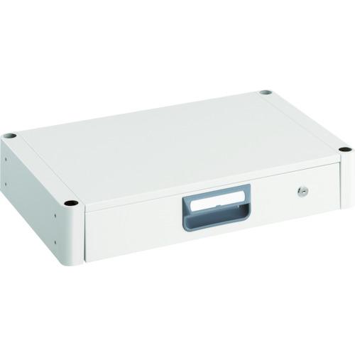 TRUSCO フェニックスワゴン 薄型1段引出 600X400 W色(1台) PEW64ZW 4882393