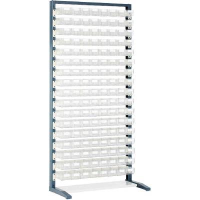 TRUSCO UPR型ライトビンラック HT-1X136個(1台) UPRL1817 3304604