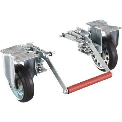 TRUSCO ドンキーカート 500番用ブレーキ自在車輪付(1台) 500NJB 4145569