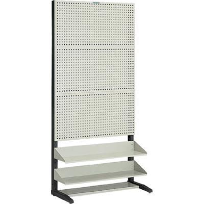 【代引不可】TRUSCO UPR型パンチングラック 棚板2段付(1台) UPR3002 5015561