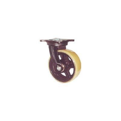ヨドノ 鋳物重量用キャスター(1個) MUHAMG300X100 3053229