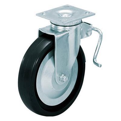 スガツネ工業 重量用キャスター径127自在ブレーキ付D(200-133-470)(1個) SUG31405BPD 3053491