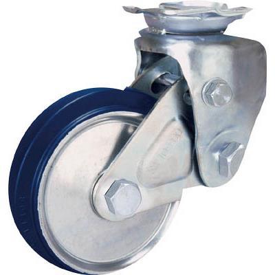 シシク 緩衝キャスター 固定 200径 スーパーソリッド車輪(1個) SAKTO200SST 3535312