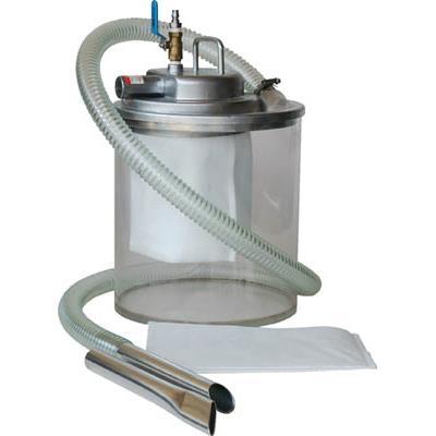 アクアシステム エア式掃除機 乾湿両用クリーナー(オープンペール缶用)(1台) APPQO550 3560317
