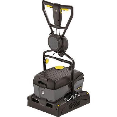 【代引不可】ケルヒャー 業務用小型床洗浄機(1台) BR4010C60HZG 4523229