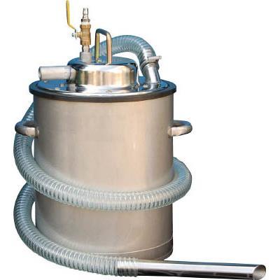 アクアシステム エア式乾湿両用ステンレス製掃除機(オープンペール缶専用)(1台) AVC550SUS 4747411